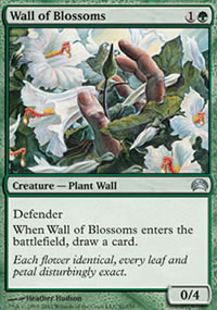 Wall of Blossoms - Planechase 2012 decks