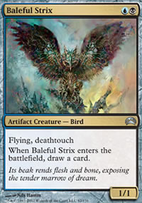 Baleful Strix - Planechase 2012 decks