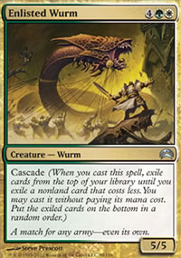 Enlisted Wurm - Planechase 2012 decks