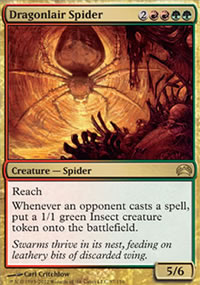 Dragonlair Spider - Planechase 2012 decks