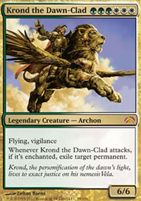 Krond the Dawn-Clad - Planechase 2012 decks