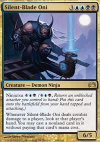 Silent-Blade Oni - Planechase 2012 decks