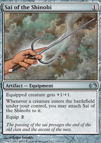 Sai of the Shinobi - Planechase 2012 decks