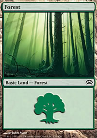 Forest 1 - Planechase 2012 decks