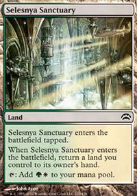 Selesnya Sanctuary - Planechase 2012 decks