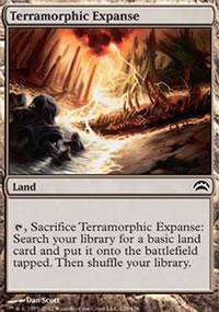 Terramorphic Expanse - Planechase 2012 decks