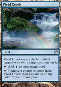 Vivid Creek - Planechase 2012 decks