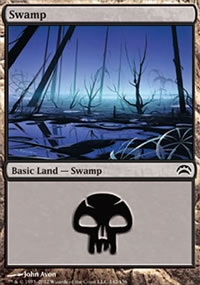 Swamp 1 - Planechase 2012 decks