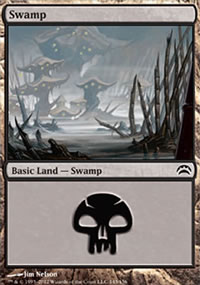 Swamp 2 - Planechase 2012 decks