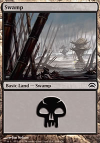 Swamp 3 - Planechase 2012 decks