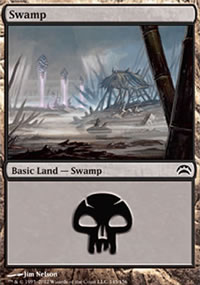 Swamp 4 - Planechase 2012 decks