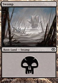 Swamp 5 - Planechase 2012 decks