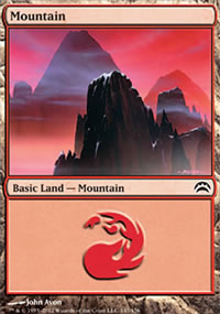 Mountain 1 - Planechase 2012 decks