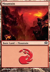 Mountain 2 - Planechase 2012 decks
