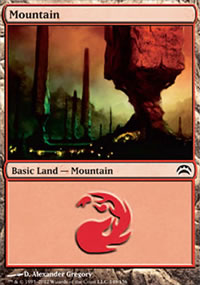 Mountain 3 - Planechase 2012 decks