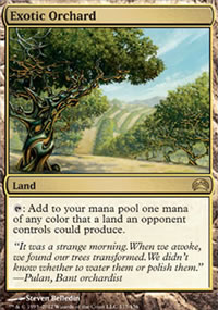 Exotic Orchard - Planechase 2012 decks
