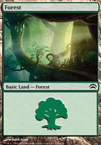 Forest 2 - Planechase 2012 decks