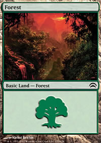 Forest 3 - Planechase 2012 decks