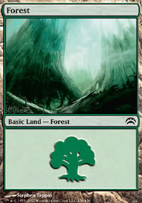 Forest 6 - Planechase 2012 decks