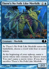 There's No Folk Like Merfolk - Unglued 2 : The Obligatory Sequel