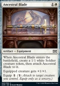 Ancestral Blade - Double Masters