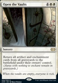 Open the Vaults -