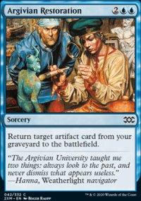 Argivian Restoration -