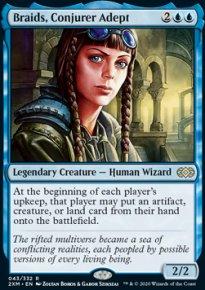 Braids, Conjurer Adept -