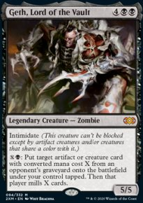 Geth, Lord of the Vault -