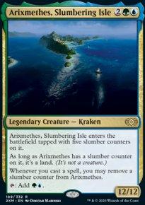 Arixmethes, Slumbering Isle -