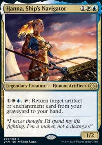Hanna, Ship's Navigator - Double Masters
