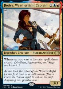Jhoira, Weatherlight Captain -