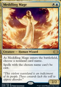 Meddling Mage 1 - Double Masters