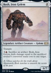 Bosh, Iron Golem - Double Masters