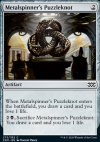 Metalspinner's Puzzleknot -