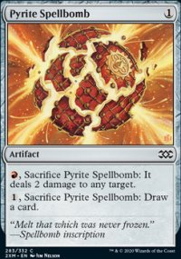 Pyrite Spellbomb -