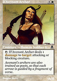 D'Avenant Archer - Masters Edition III