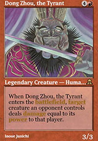 Dong Zhou, the Tyrant - Masters Edition III