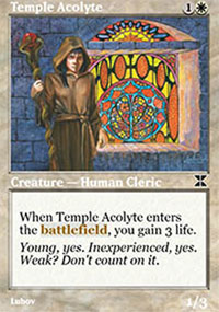 Temple Acolyte - Masters Edition IV