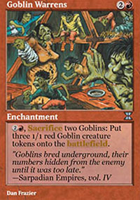 Goblin Warrens - Masters Edition IV