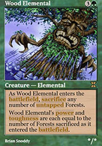 Wood Elemental - Masters Edition IV