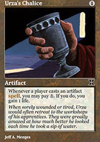 Urza's Chalice - Masters Edition IV