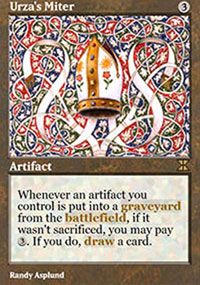 Urza's Miter - Masters Edition IV