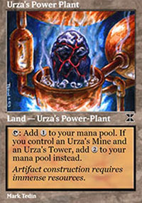 Urza's Power Plant 1 - Masters Edition IV