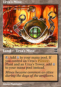 Urza's Mine 2 - Masters Edition IV