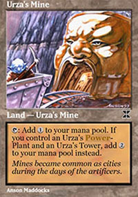 Urza's Mine 4 - Masters Edition IV