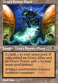 Urza's Power Plant 2 - Masters Edition IV