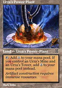 Urza's Power Plant 3 - Masters Edition IV