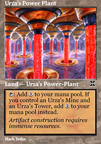 Urza's Power Plant 4 - Masters Edition IV