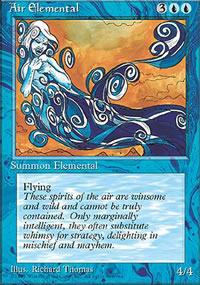 Air Elemental - 4th Edition